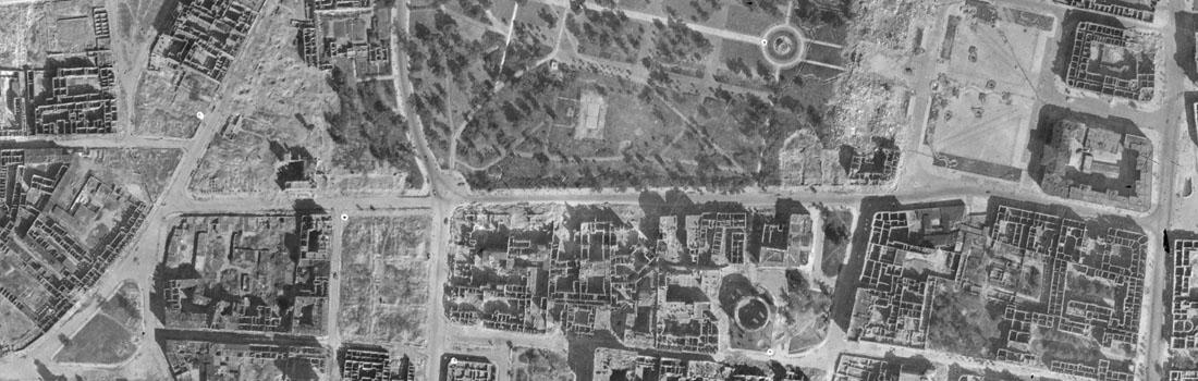 Ulica Królewska - rok1945